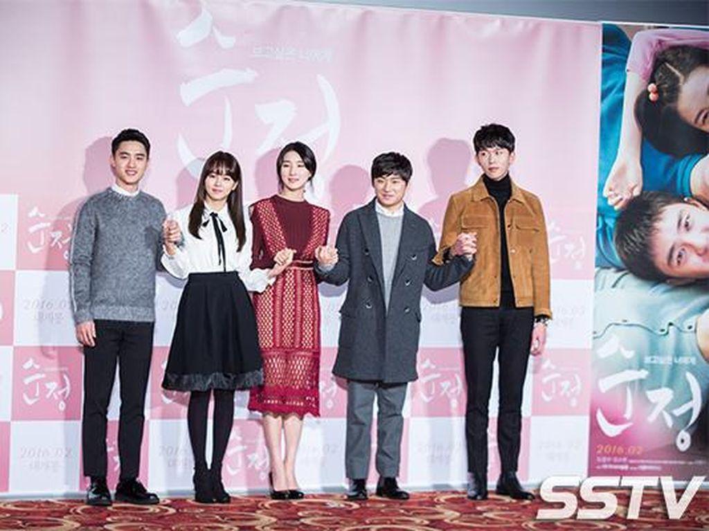 Diserang Netizen, Lawan Main D.O EXO di Pure Love Stres dan Masuk RS