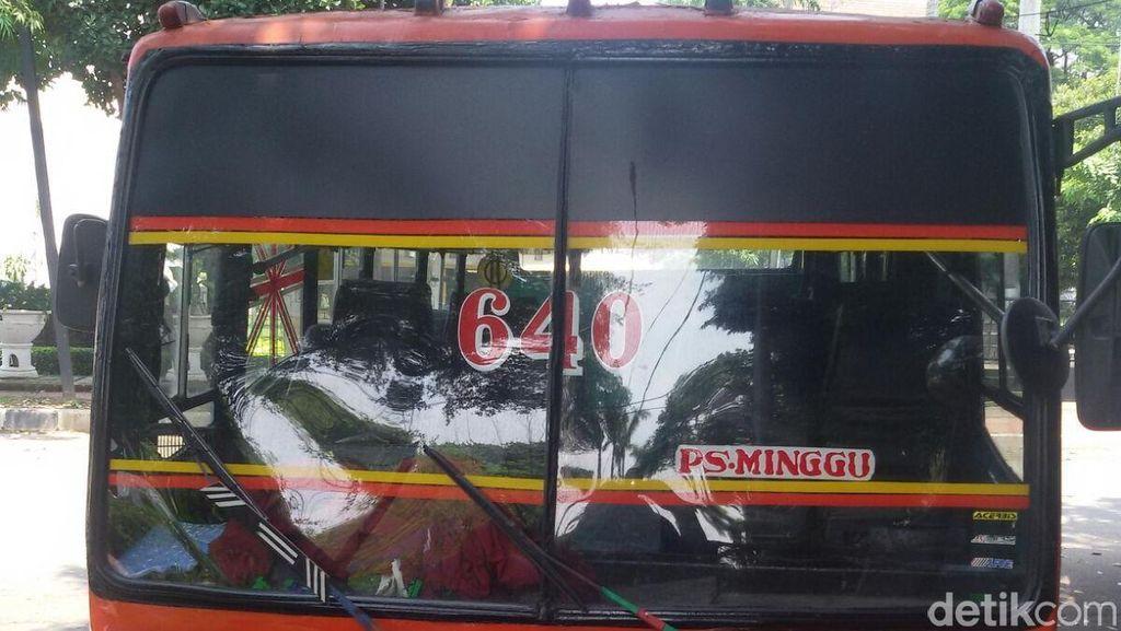 Copet Metro Mini 640, Sering Ditemukan Dompet Kosong di Thamrin-Kebon Sirih