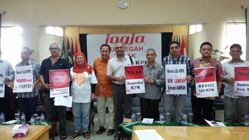 Tokoh-tokoh di Yogyakarta Turun Gunung, Tolak Revisi UU KPK