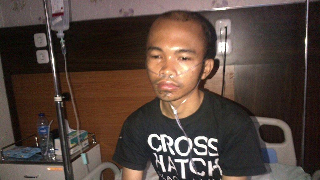 Kondisi Driver Go-Jek yang Diserang Orang Bersenpi di Kemang Membaik