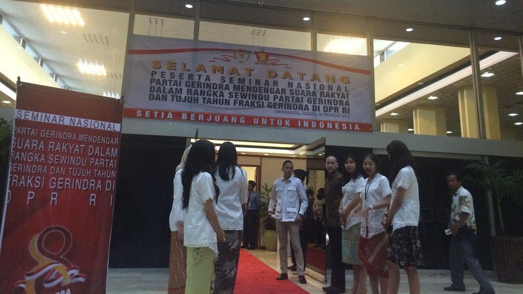Gerindra Gelar Seminar Dengar Suara Rakyat, akan Bahas Revisi UU KPK