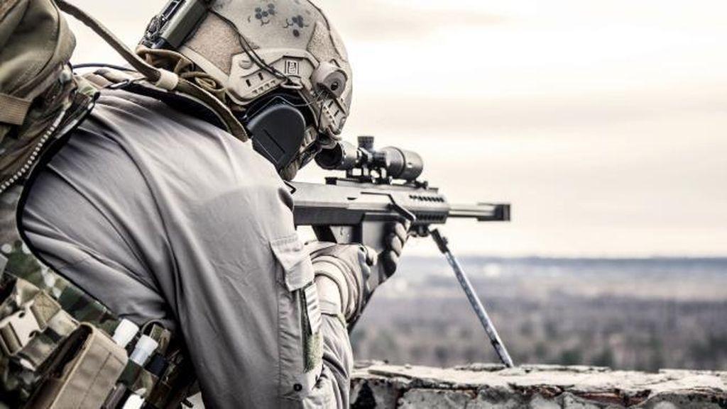 Penembak Jitu Inggris Tewaskan Algojo ISIS di Suriah