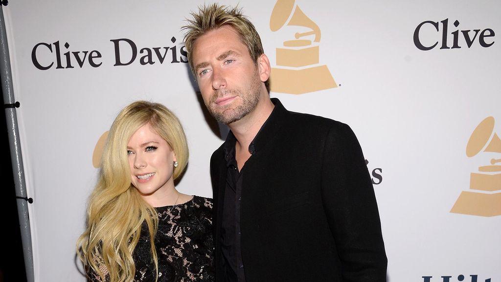 Pre-Grammy 2016 Kembali Satukan Avril Lavigne dan Mantan Suami