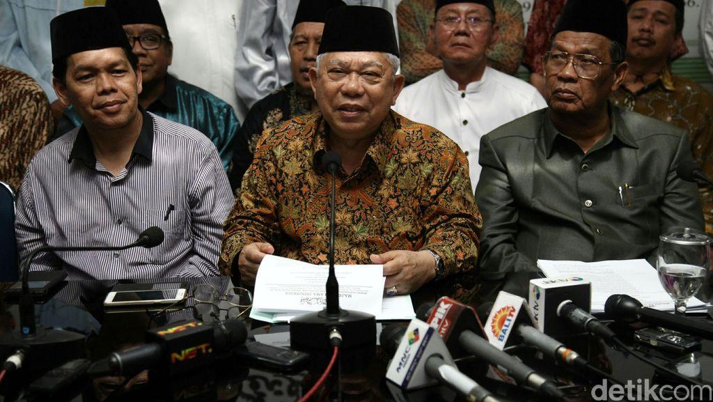 Ketua MUI Maruf Amin Dirawat di RSPON, Keluarga: Mohon Doanya Ya
