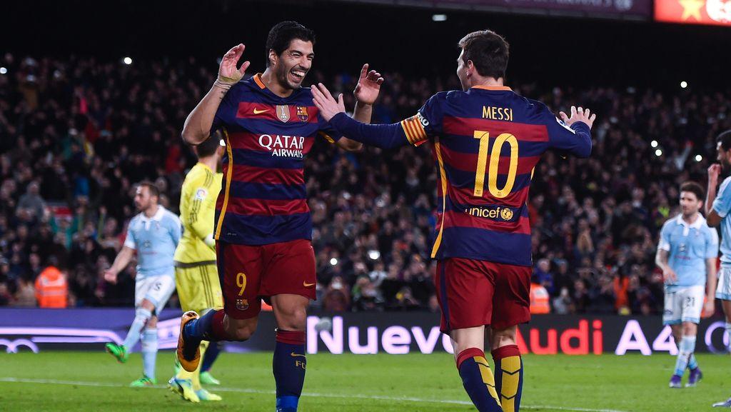 Soal Pensiun dari Timnas, Suarez Yakin Messi Akan Berubah Pikiran