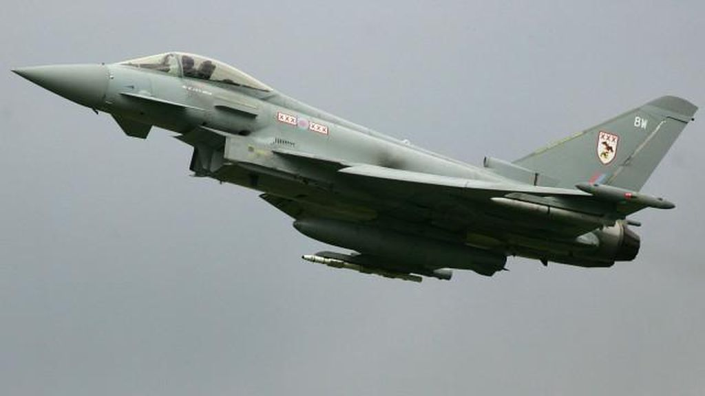 Jet Tempur F-16 Amerika Jatuh di Afghanistan