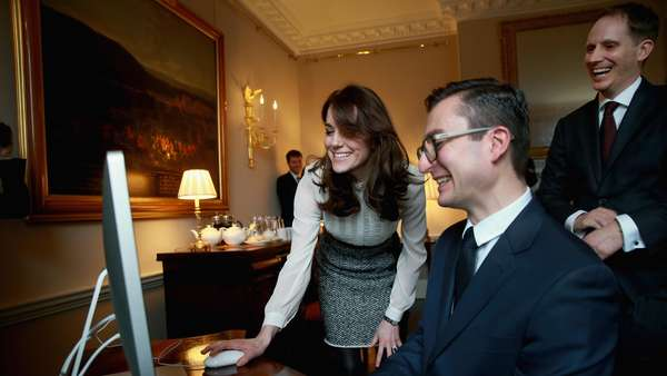 Ketika Kate Middleton Jadi Editor Media