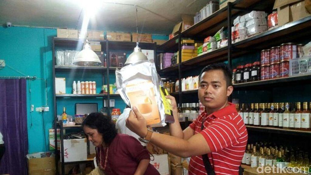 BPOM Makassar Sita Makanan Ilegal Bernilai Ratusan Juta