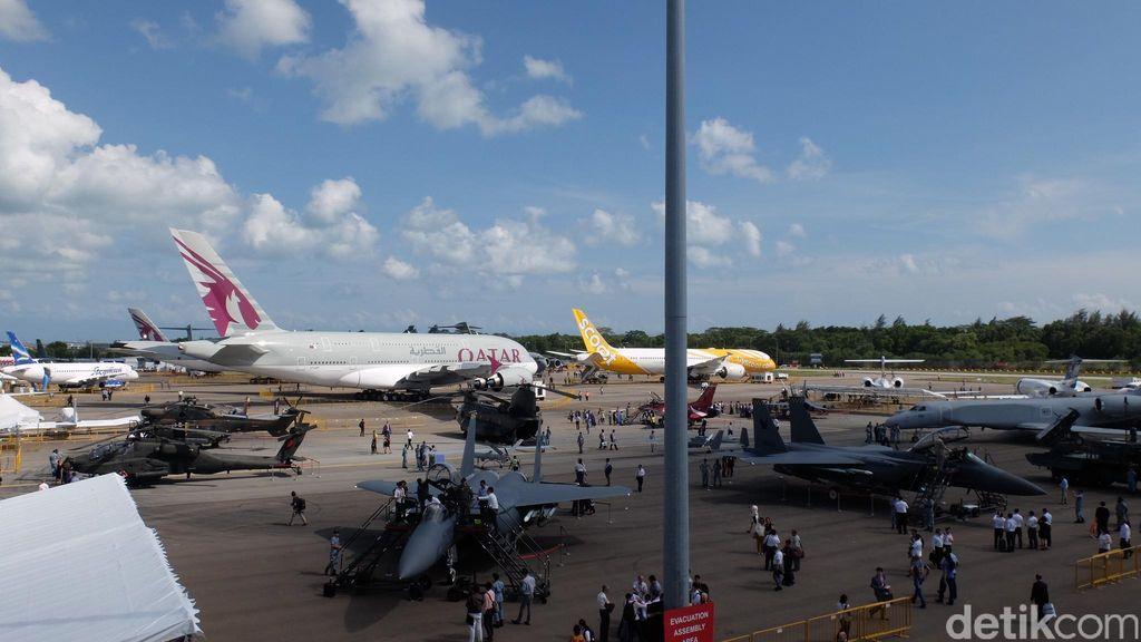 Singapore Airshow Dibuka untuk Umum Sabtu-Minggu