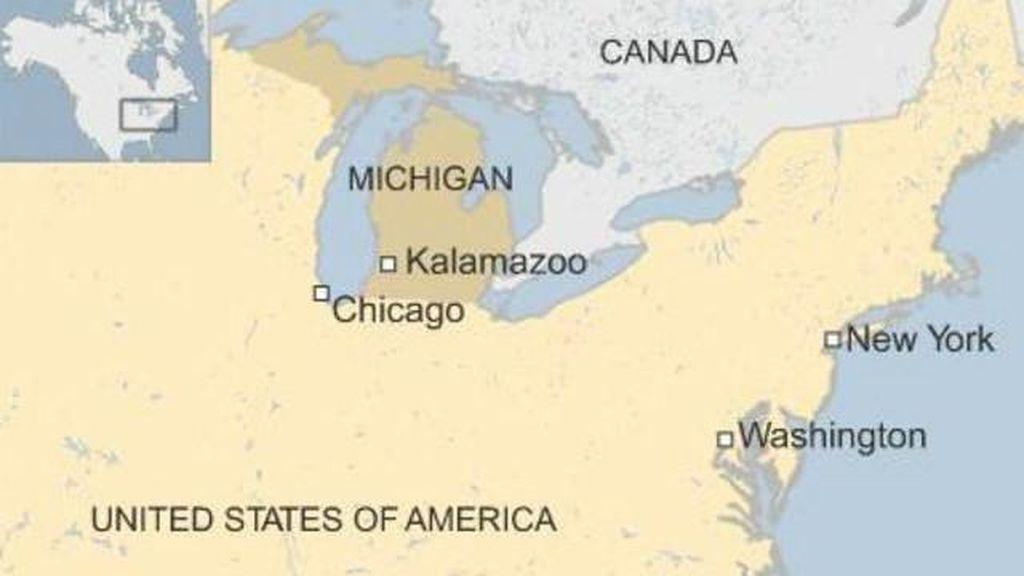 Polisi AS Buru Penembak Michigan yang Menewaskan 6 Orang