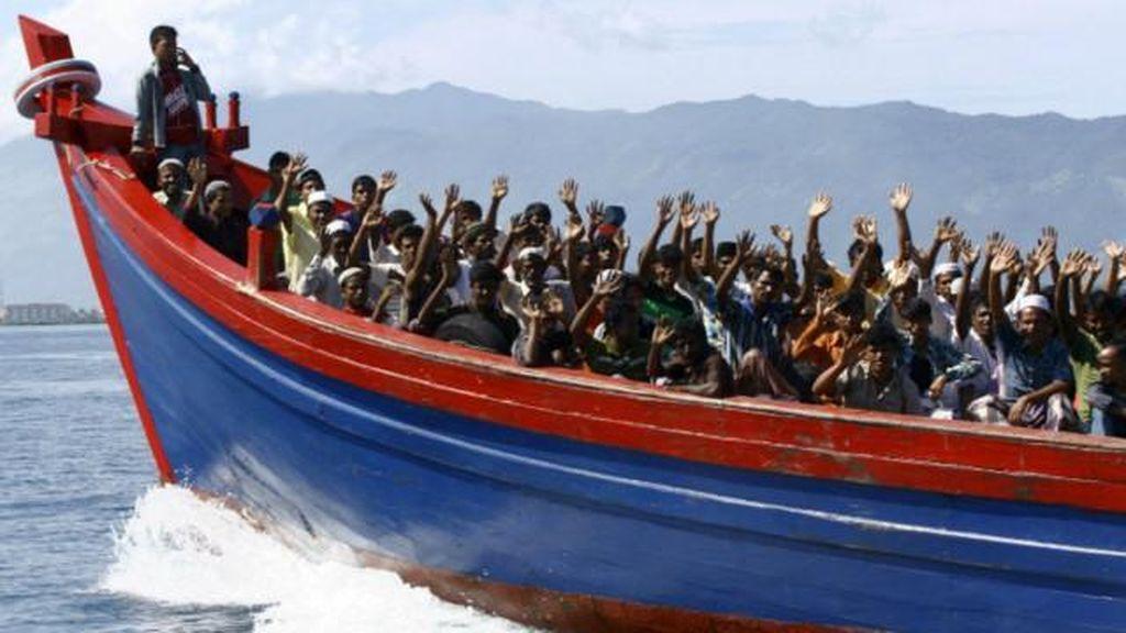 Belasan Pengungsi Rohingya Ditemukan Terlunta-lunta di Hutan Thailand