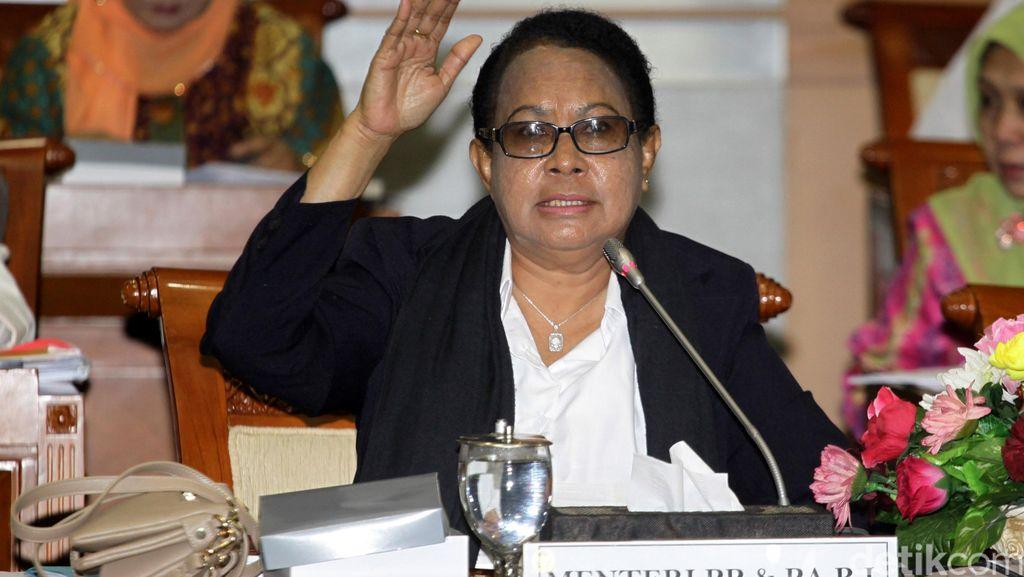 Eksekutor Kebiri Belum Jelas, Menteri Yohana: Akan Kita Buat PP