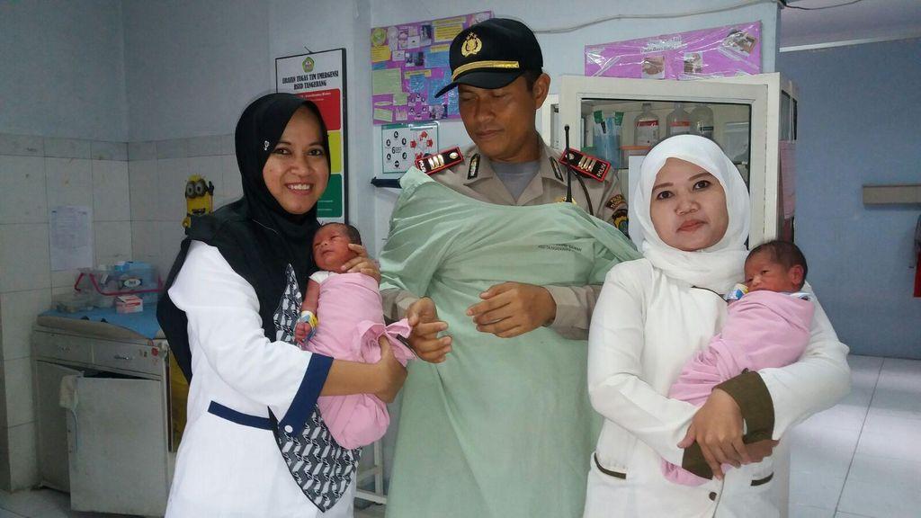 Ibu Tunawisma yang Melahirkan di Sisi Cisadane Sudah 3 Kali Punya Bayi Kembar
