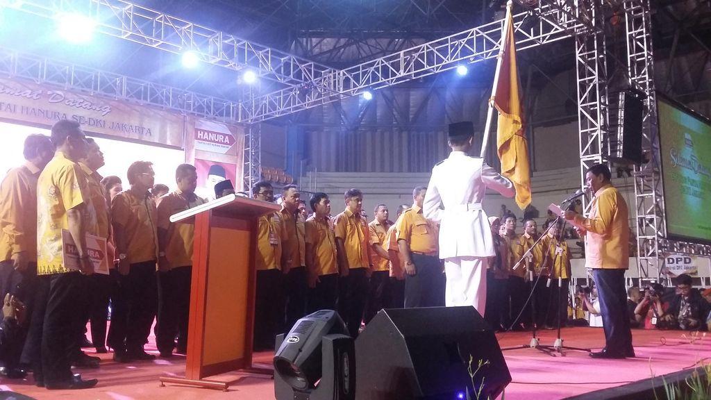 Wanita Emas, Adhyaksa dan Sandiaga Uno Hadiri Pelantikan Pengurus Hanura