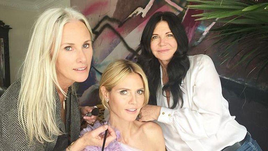 Heidi Klum hingga Lady Gaga Unggah Persiapan Jelang Oscar di Medsos