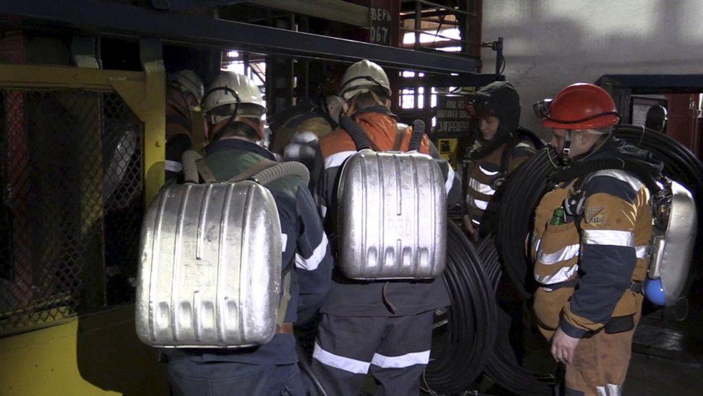 Ada Ledakan Baru, Korban Tewas Runtuhnya Tambang Rusia Jadi 36 Orang
