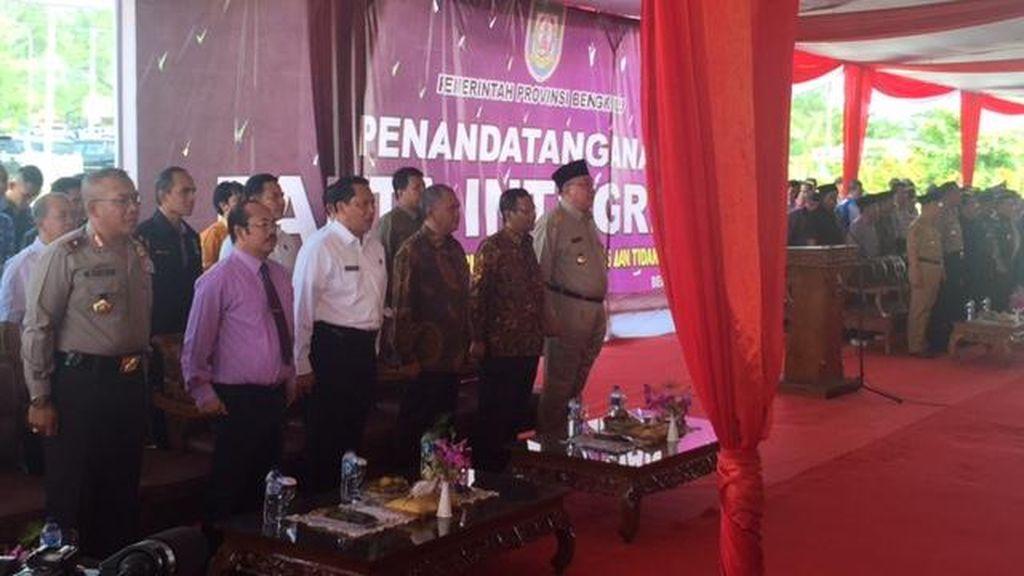 Gubernur Bengkulu: Langgar Pakta Integritas, Pejabat Harus Mundur