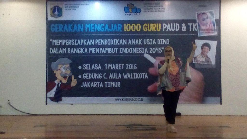 Gerakan Mengajar 1.000 Guru PAUD dan TK Digelar di Jaktim