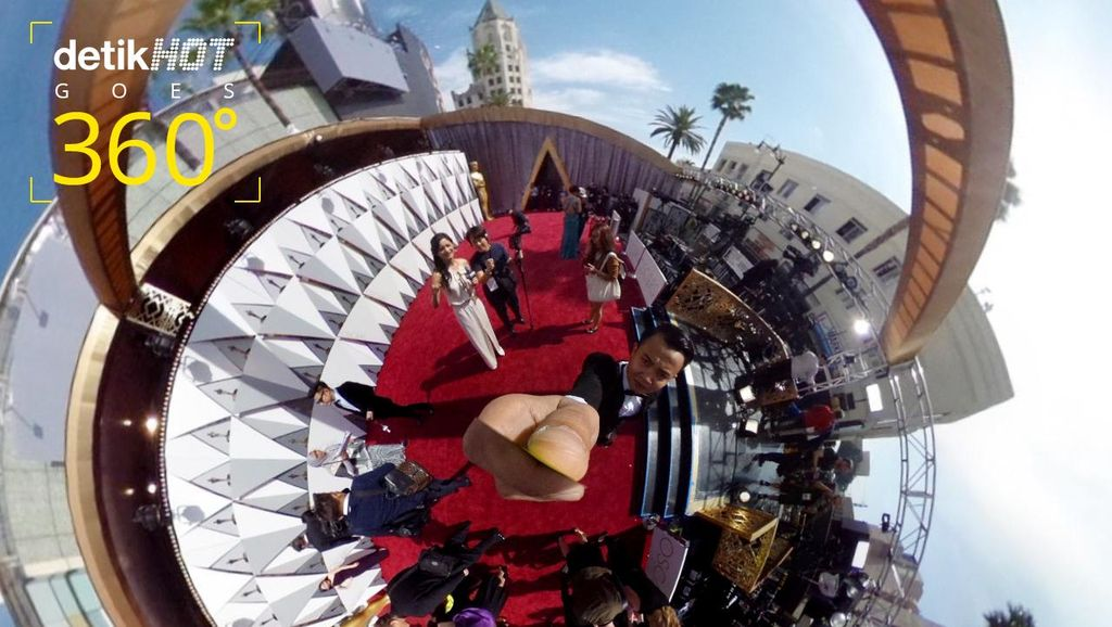 detikHOT di Red Carpet Oscar 2016