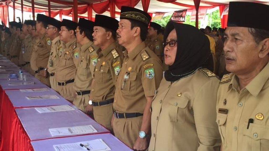1.108 Pejabat Pemprov Bengkulu Deklarasikan Pakta Integritas Antikorupsi