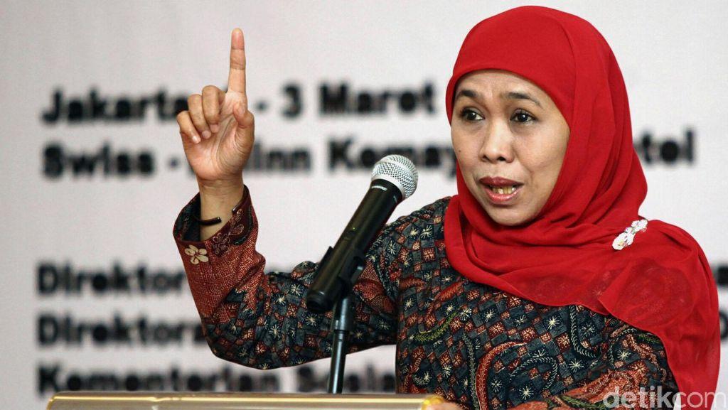 Mensos Khofifah Targetkan Tahun 2017 Indonesia Bebas Anak Jalan