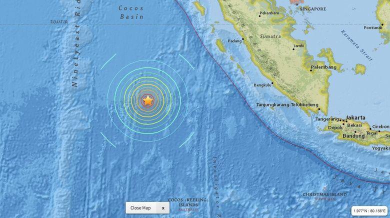 BMKG: Gempa 7,8 SR di Kepualauan Mentawai Akibat Aktivitas Sesar Mendatar