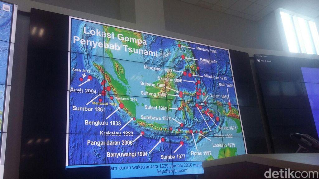 BNPB: Gempa di Mentawai Tadi Malam Berpusat di Samudera Hindia