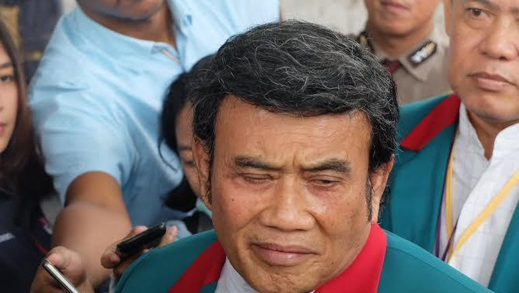 Berseragam Partai Idaman, Rhoma Irama Sambangi KPK