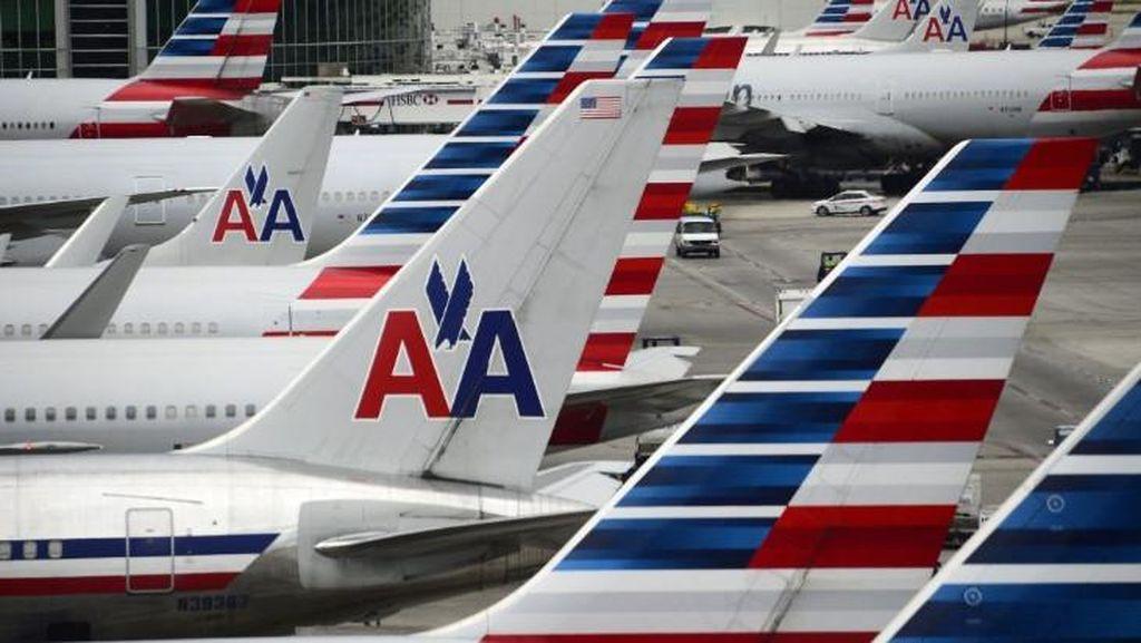 Ada Kebocoran Saat akan Lepas Landas, Penumpang American Airlines Dievakuasi
