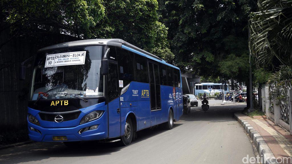 APTB Tak Boleh Masuk Jalur TransJ, Kadishub: Silakan Ganti Nama