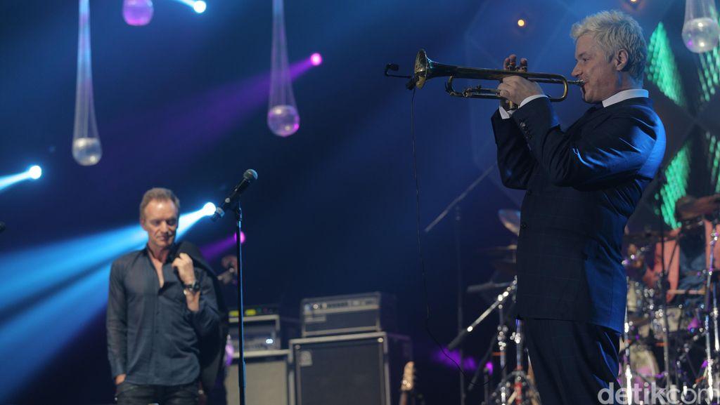Klimaks! Aksi GAC, Brian Simpson Hingga Sting Tutup Java Jazz 2016
