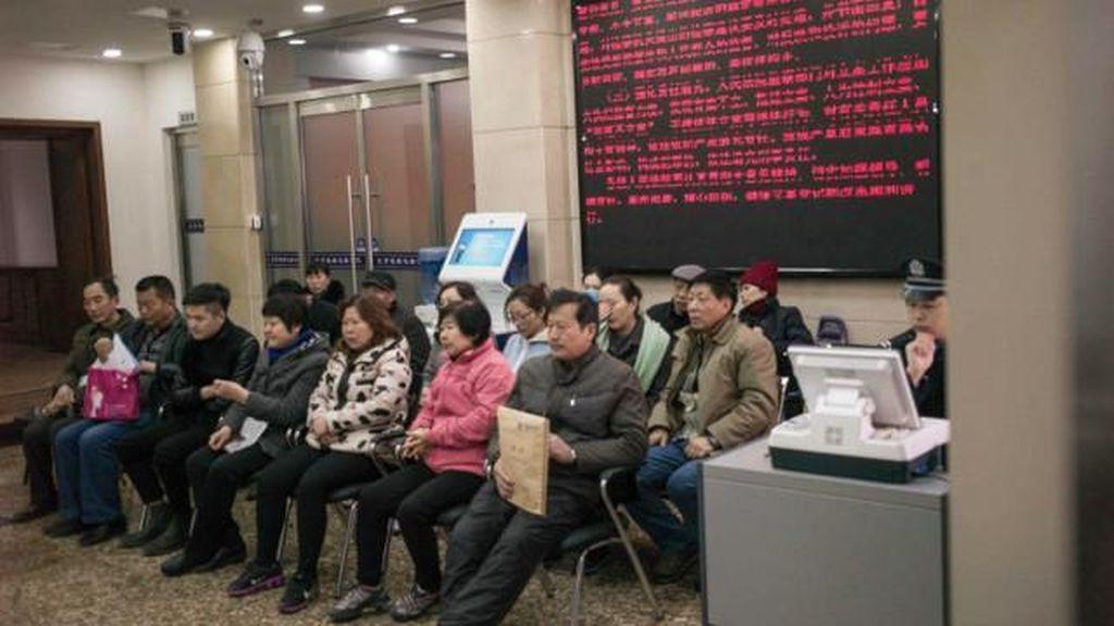 Keluarga Korban Pesawat MH370 Menggugat di Beijing