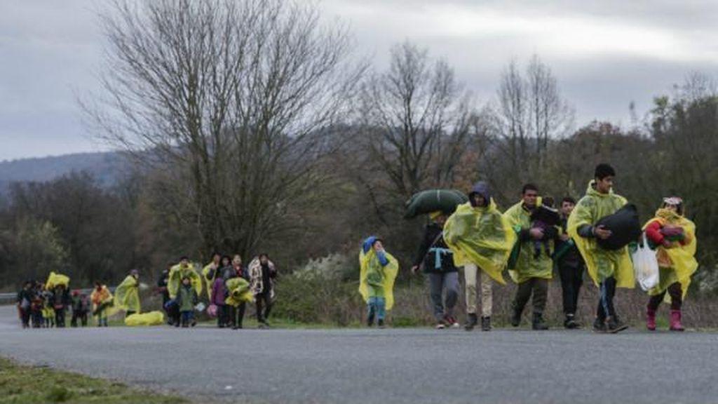 Cegah Migran, Masedonia Tutup Perbatasan dengan Yunani