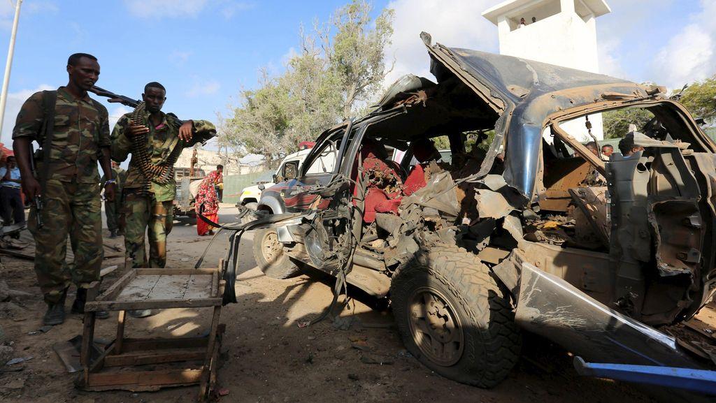 Bom Mobil Meledak di Somalia, 3 Polisi Tewas