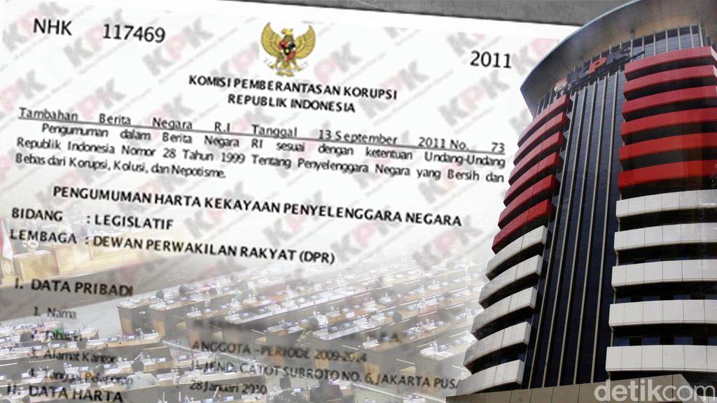 KPK: Persentase Anggota DPR yang Belum Setor LHKPN 29,42%