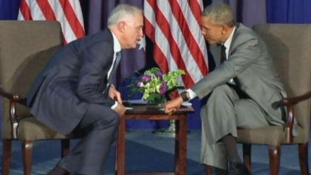 Pembicaraan Rahasia Obama dan Turnbull tentang Islam di Indonesia