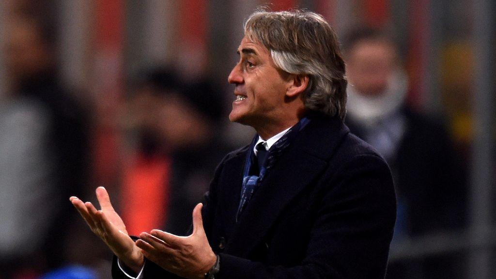 Mancini Sadari Inter sedang Tak Bagus