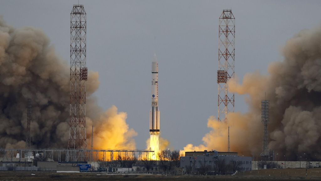 Cari Tanda Kehidupan di Mars, Pesawat Robotik Rusia-Eropa Diluncurkan