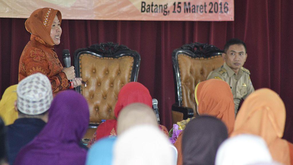 Wali Kota Risma Ingin Kampung di Surabaya Menjadi Kampung Pendidikan