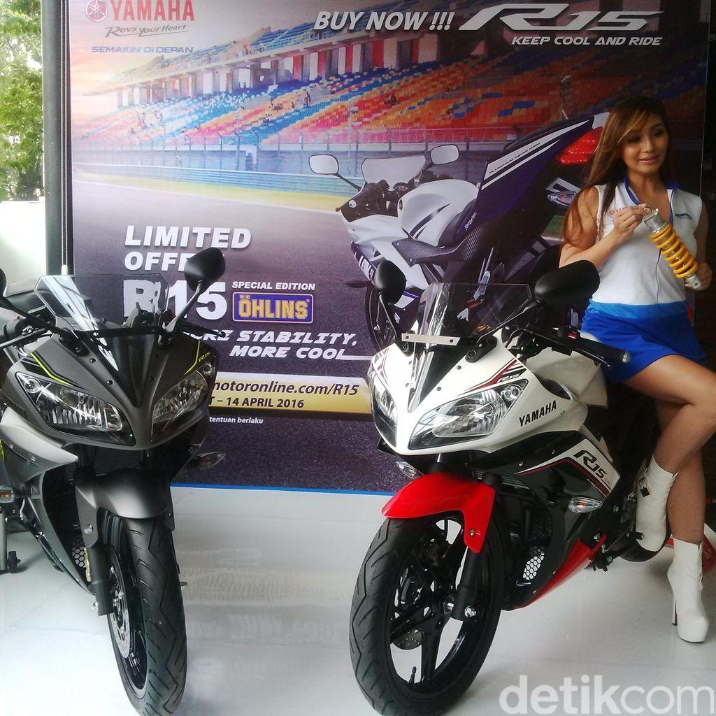 Yamaha R15 Bersolek Tahun Depan?