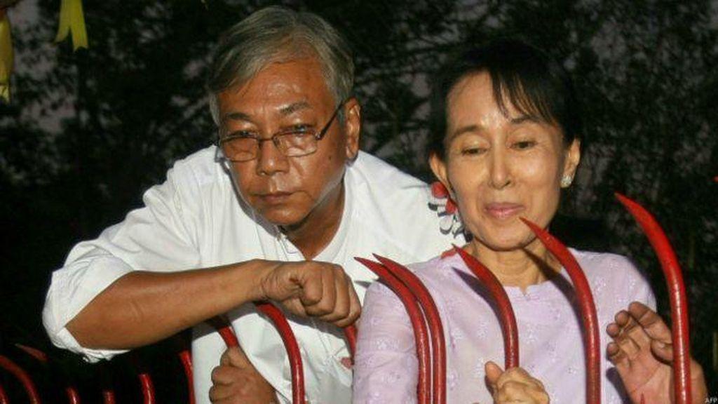 Momen Bersejarah! Sekutu Dekat Suu Kyi Terpilih Menjadi Presiden Myanmar