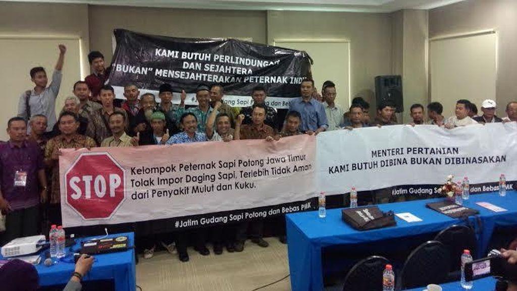 Peternak Sapi Potong Jawa Timur Tolak Impor Sapi India