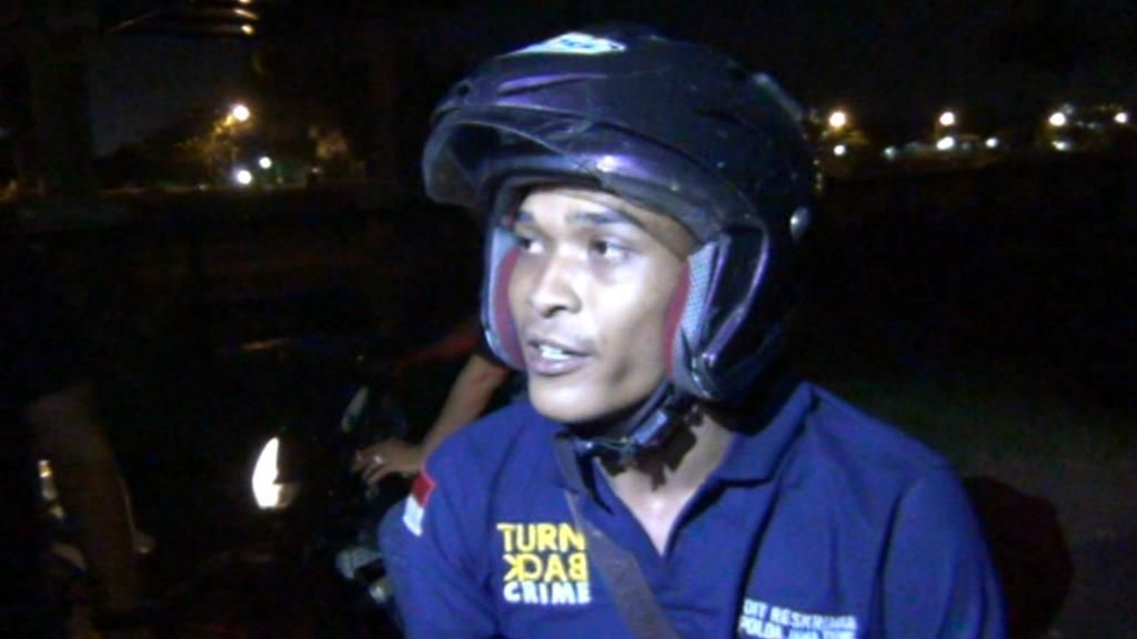 Berkaos Turn Back Crime dan Mengaku Wartawan, Rijal Ditangkap Polisi