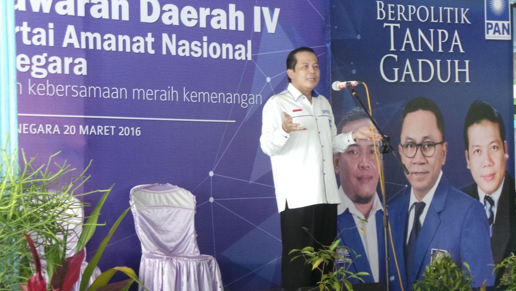Tausiyah Di Musda PAN, Waketum Taufik Kurniawan: Parpol Hanya Halte Politik