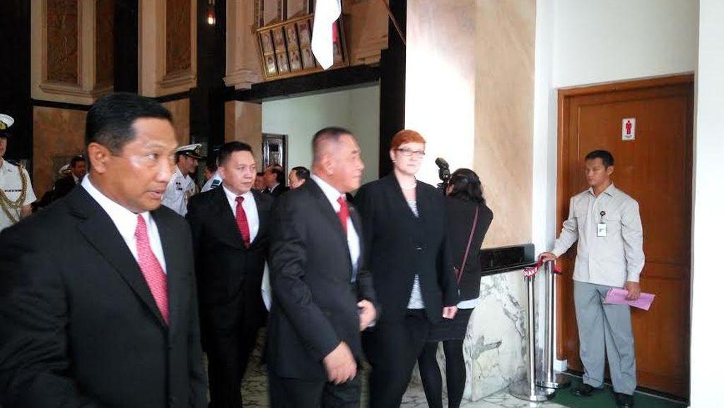 Menhan Ryamizard dan Menhan Australia Bertemu, Bahas Kerjasama Pertahanan