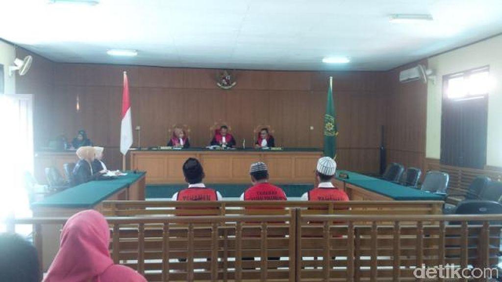 3 Terdakwa Perdagangan Orangutan Divonis 2 Tahun di PN Pekanbaru