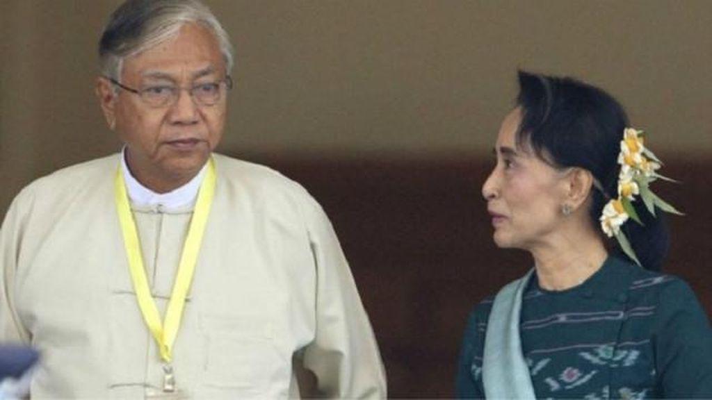 Aung San Suu Kyi Menjadi Menteri dalam Kabinet Baru Myanmar