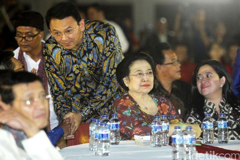 Ahok Yakin Diusung Mega, PDIP: Tak Ada Jaminan!