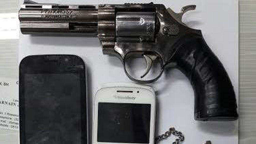 Bersenjata Pistol Mainan, Komplotan Pelaku Curanmor Dibekuk Polisi