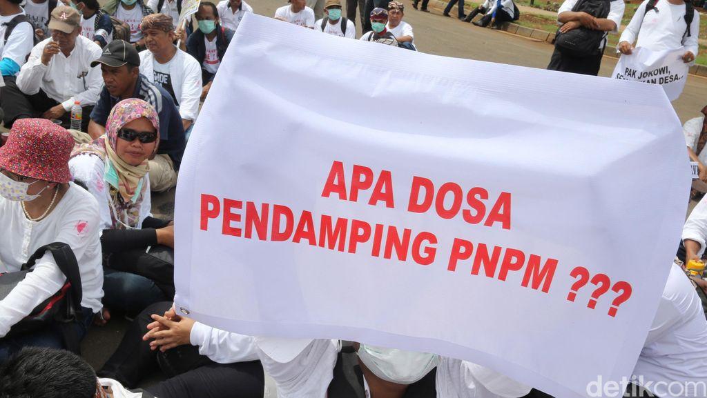 Kata Mendes Soal Aksi Demo Pendamping Desa